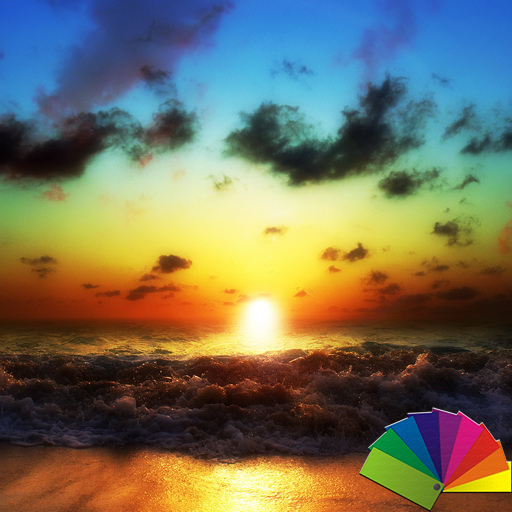 Sunset Theme For Xperia