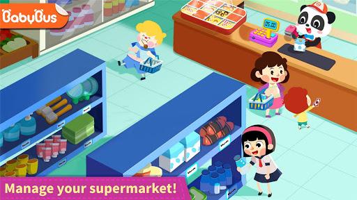 Baby Panda's Town: Supermarket screenshot 1