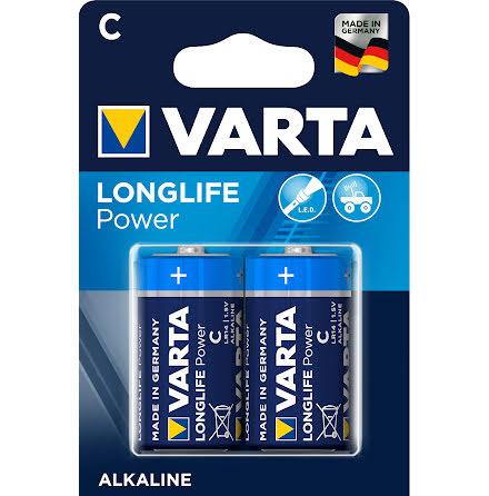 VARTA LONGLIFE Power C/LR14 2-PACK