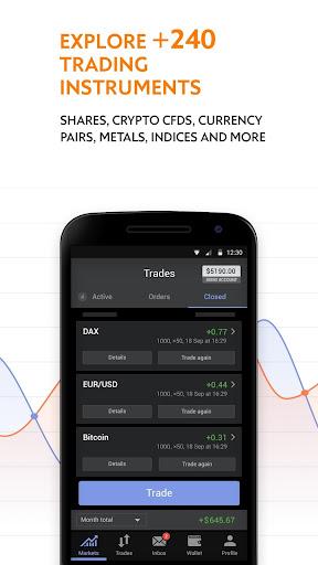 Libertex - online trading: Forex & Bitcoin CFD's 2.23.2 screenshots 2