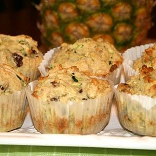 Pineapple Zucchini Muffins.