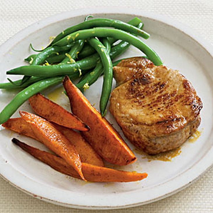 Spice-Rubbed Pork Chops Recipe