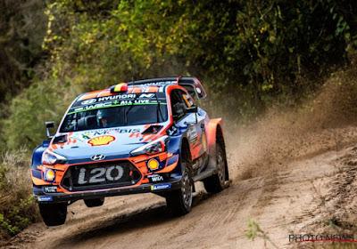 WRC Argentine : Neuville termine 1er de la 4ème spéciale et remonte au classement