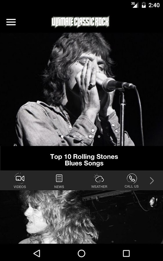 Ultimate Classic Rock- screenshot