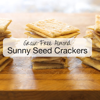 Almond Sunny Seed Grain-Free Crackers.