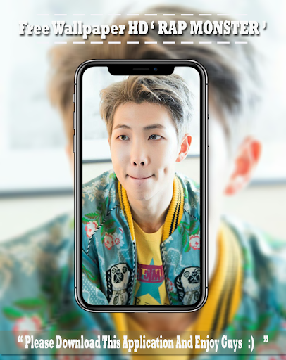 BTS Rap Monster Wallpapers HD KPOP Fans screenshot 4