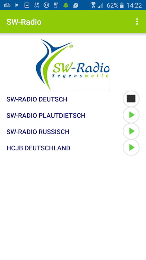 SW-Radio Segenswelle- screenshot