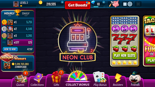 Neon Club Slots - Jackpot Winners Game for PC