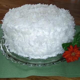 Ultimate Coconut Cake.