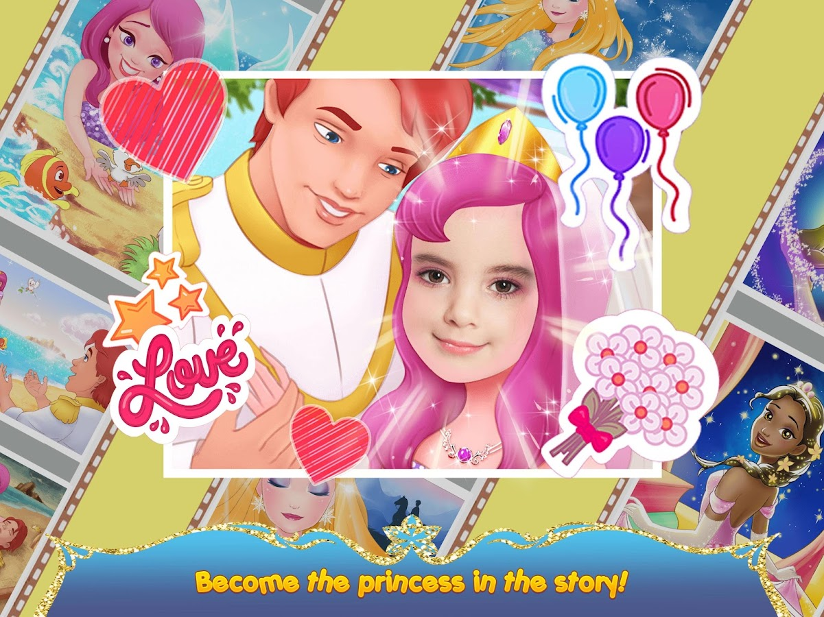 Princess Mirror Selfie Camera- screenshot