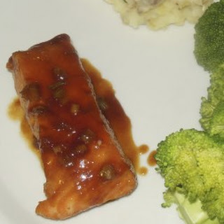 Orange Honey Seared Salmon