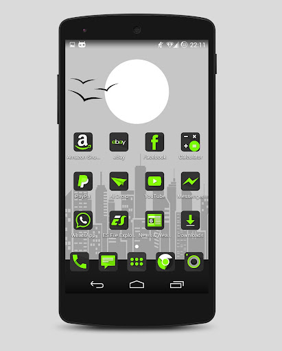 Krypton - Icon pack Apps for Android screenshot