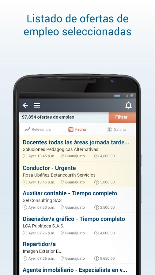 Computrabajo ofertas de empleo android apps on google play for Ofertas trabajo gava
