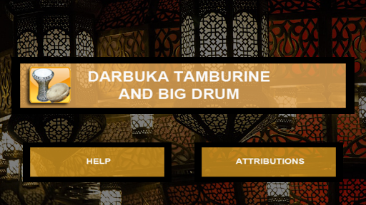 Darbuka  tambourine and big drum Apk 2