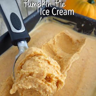Pumpkin Pie Ice Cream (No Churn!)