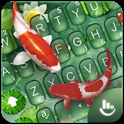 Cute Koi Fish Keyboard Theme