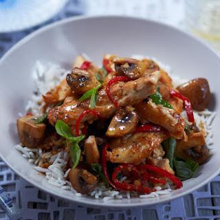 Mushroom Basil Chicken Breasts Recipes
