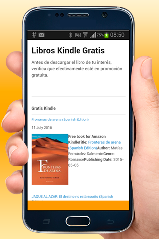 Libros Gratis Kindle Español- screenshot