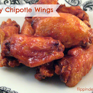 ... chipotle wings flippin delicious chicken wings oil honey apple
