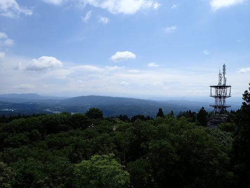 展望台からの眺め(恵那山方面)