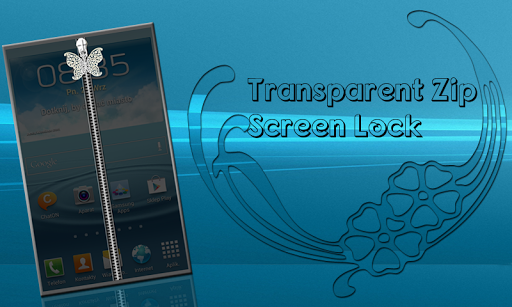 Transparent Zip Screen Lock