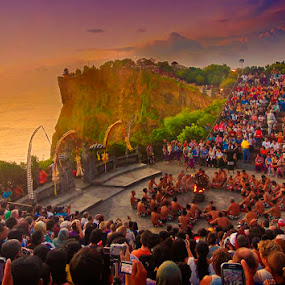 fire dance by Andi Irawan - Landscapes Travel ( history, sunset, beautiful, traditional, travel, landscape, dance, culture )