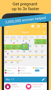 1 Ovia Ovulation & Period App screenshot