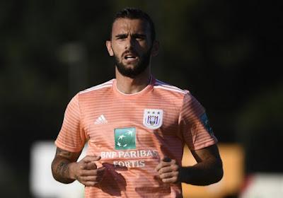 Abazaj revient sur ses six mois à Anderlecht
