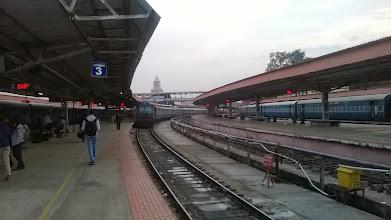 Photo: Mysore - před odjezdem do Bangalore