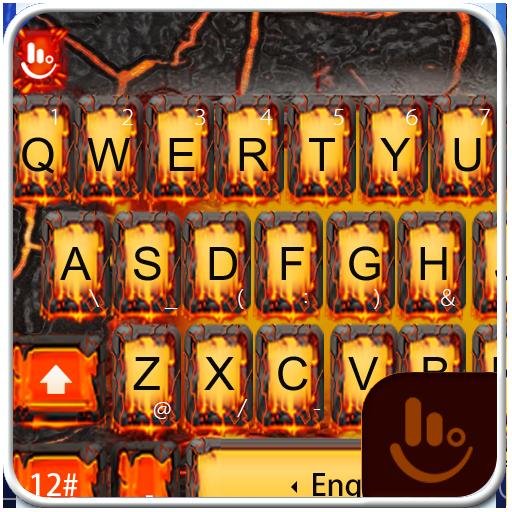 TouchPal Lava Keyboard Theme 個人化 LOGO-玩APPs