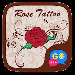 (FREE) GO SMS ROSE TATTOO THEME Icon