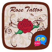 (FREE) GO SMS ROSE TATTOO THEME