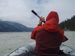 Photo: Back on Chitina river again.