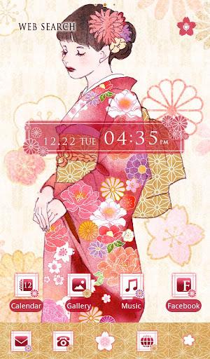 玩免費個人化APP|下載壁紙無料-Kimono Lady-かわいいきせかえ・アイコン app不用錢|硬是要APP