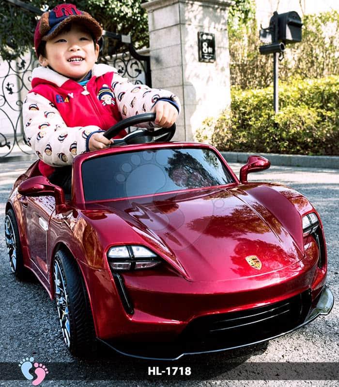 Xe hơi điện cho bé Porsche HL-1718 1