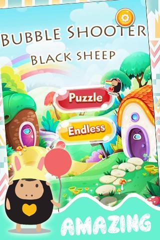 Bubble Shooter Black Sheep