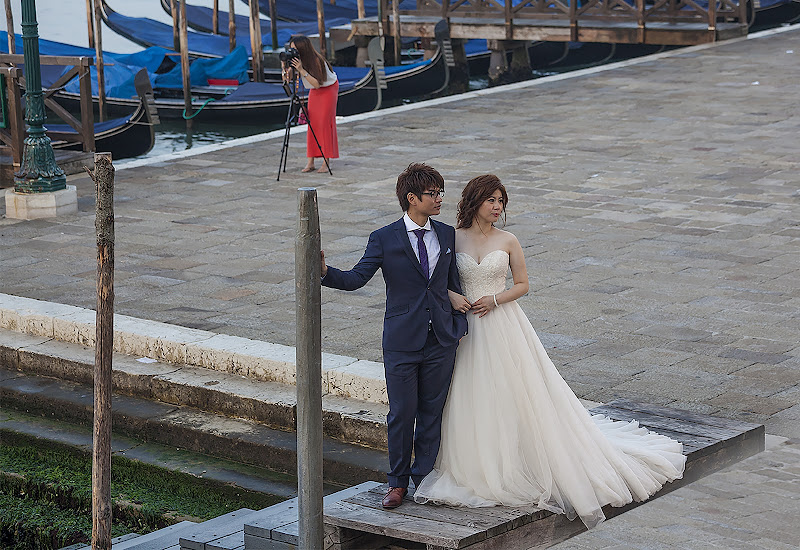 La sposa,lo sposo e..la fotografa di angelo27
