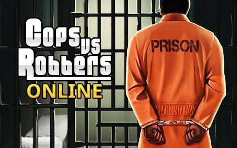 Cops Vs Robbers Online Prison MOD APK V1.0 (GOD MODE/HAS KEY CARD/SUPERSPEED/SUPERJUMP/ NOADS) 1