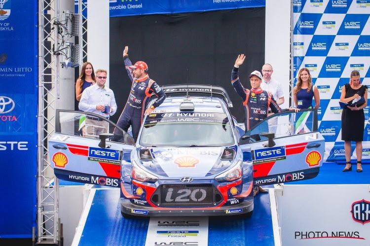 Belgische hoop op wereldtitel Thierry Neuville en grote concurrent voeren de druk op