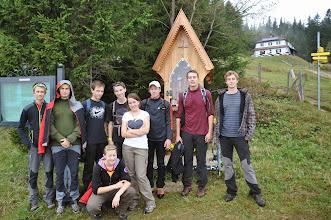Photo: Vysokohorská turistika v pohoří Raxalpe v rakouských Alpách (den 3 - neděle 6. říjen 2013).