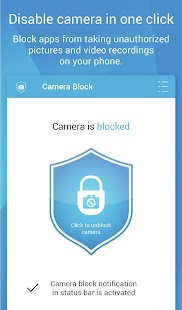 Camera Block - Anti spy-malware Screenshot