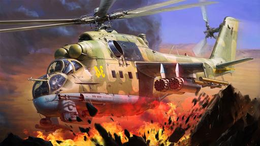 Gunship Shooting Strike Battle screenshots 2