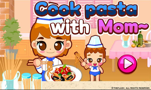Cook pasta with mom 1.0.0 screenshots 1