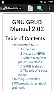 Grub 2 Linux Boot Loader Manual - náhled