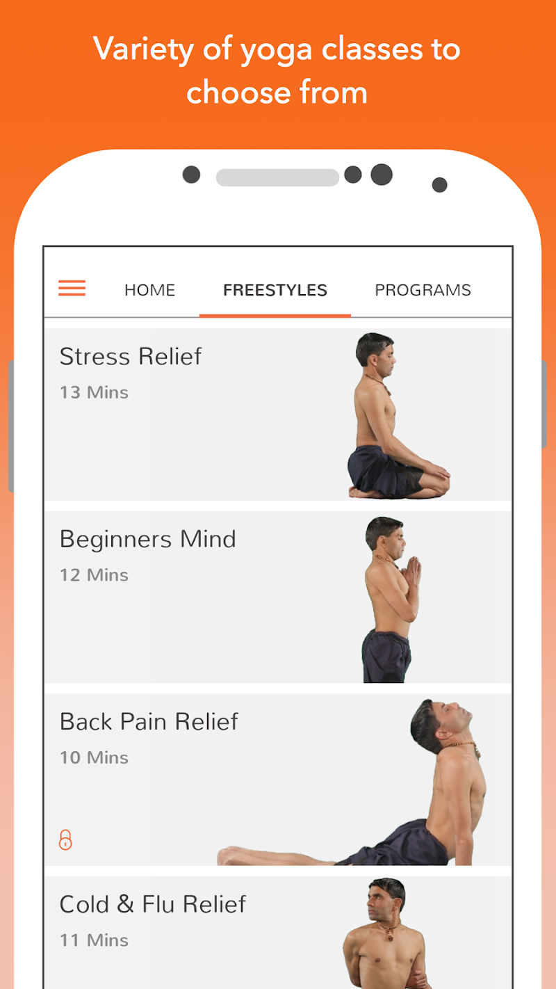Yoga - Track Yoga Screenshot