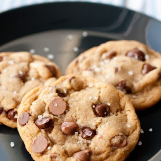 Browned Butter Salted Chocolate Chip Cookies.