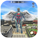 Crime Vegas Air Strike: Crime Angel Superhero Game icon