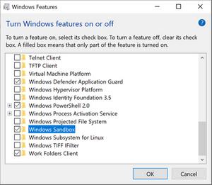Cách kích hoạt Windows SandBox tạo môi trường ảo trên Windows 10 5