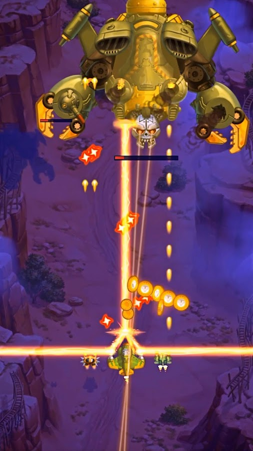 HAWK – Force of an Arcade Shooter. Shoot 'em up!- screenshot