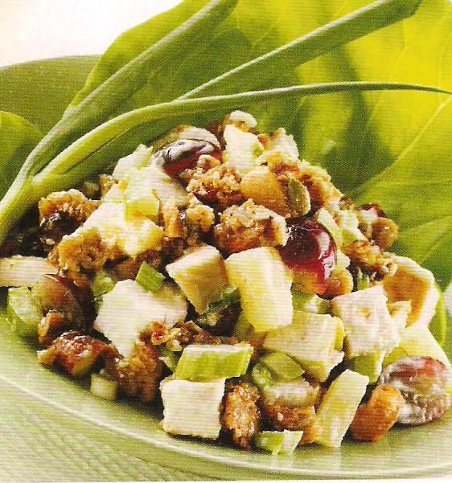 Crunchy Chicken Salad Recipe 2 Just A Pinch Recipes